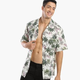 Coco Republic Mens Tropical Casual Shirt (Beige) Price Philippines