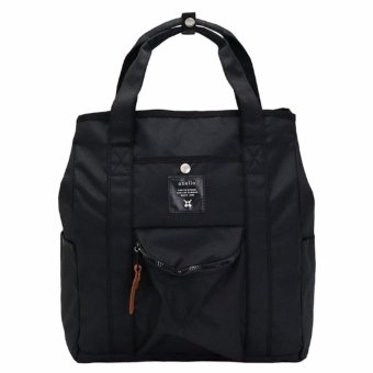 Harga Anello 2-Way Tote Bag and Backpack AT-N0071 (Black)