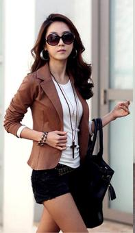 Jo.In Women Slim Casual Short Blazer Suit Jacket Coat Outwear 5 Colors - intl Price Philippines