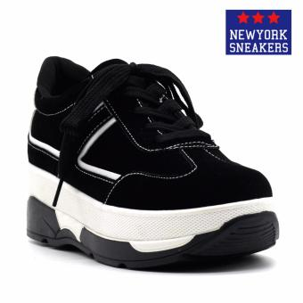 New York Sneakers Connor Rubber Shoes(BLACK/WHITE) Price Philippines