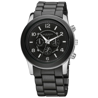 Harga Akribos XXIV Women's Black Alloy Strap Watch AK583BK