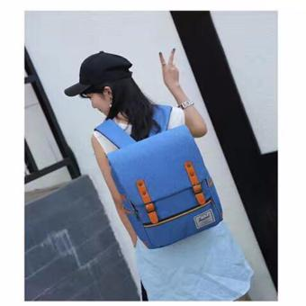 QF New Korean BagPack(BLUE) Price Philippines