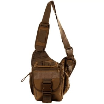 QF Mens Boys 222 Plain Military Messenger Bag (Khaki) Price Philippines