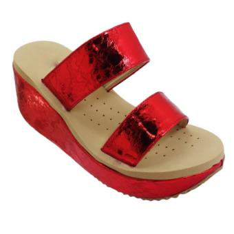 Harga Seven Squared C-80103Ws Wedge Sandals (Red)