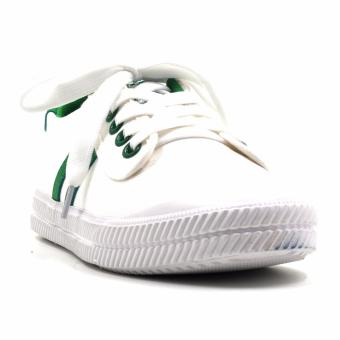 Harga New York Sneakers Brigitte Low Cut Shoes(WHITE/GREEN)