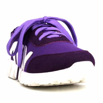 Harga New York Sneakers Abi Rubber Shoes(PURPLE)