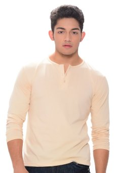 Sunjoy Camisa de Chino Long Sleeves (Mocha) Price Philippines