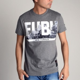 Fubu Muscle Fit Roundneck FBT01B-1877 (Dk. H.Gray) Price Philippines