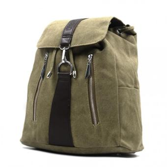 Urban Hikers Callum Knapsack Backpack (Moss Green) Price Philippines