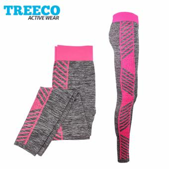 Treeco Fashionable Active Sports Leggings 909 (Pink) Price Philippines