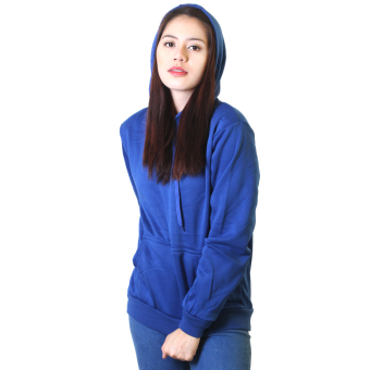 Cotton Republic Trendy Hooded Pullover Jacket (Blue) Price Philippines