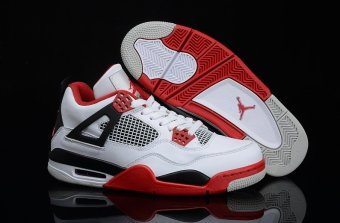 Harga 2016 Hot Sale and Top Quality jd 4 Basketball Shoes For Original Jordan 4 Men's - intl