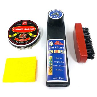 Harga Universal Shoe Shine Shoe Polish Kit