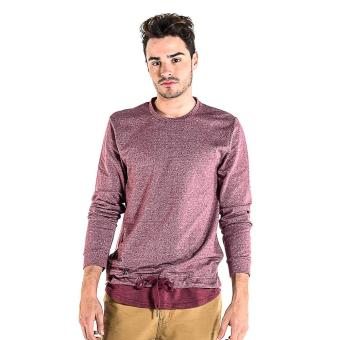 Harga OXYGEN Color Block Pullover (Red)
