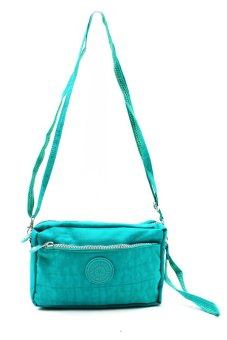 Harga Seeingly Crest Sling Bag (Green)
