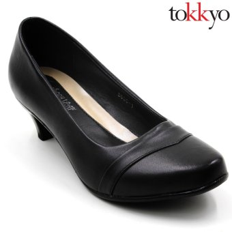 Tokyo Shoes Women's Jacy 3638-5 Sable Shoes (Black) Price Philippines