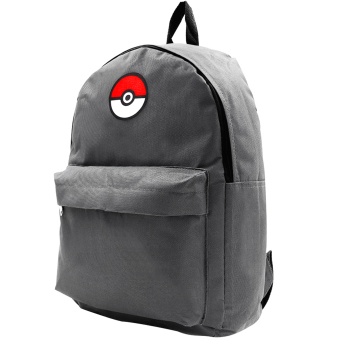 POKEMON GO Anime Pokemon Trainer Adventure Backpack (Steel Grey) Price Philippines
