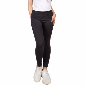 Harga Cotton Republic Modern Fashionable Plain Leggings (Grey)