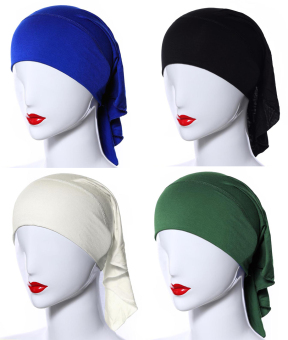 4 X Womens Muslim Mini Inner Hijab Caps Underscarf Multicolor Price Philippines