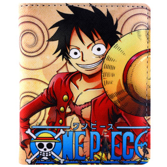 ANIME ZONE One Piece Monkey D. Luffy Trendy Bifold Casual Leather Wallet Price Philippines