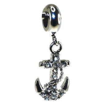 Imono Steel Jewelry 174ISP Charm (Silver)