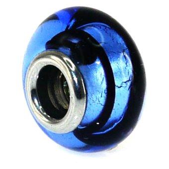 Imono Steel Jewelry 4ISP Charm (Blue/Black)