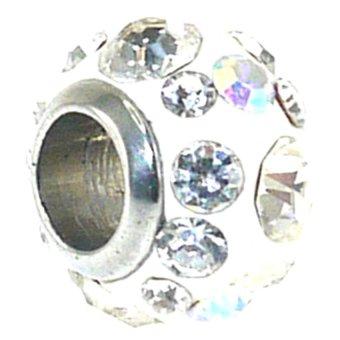 Imono Steel Jewelry 59ISP Charm (White)