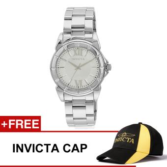 Invicta Angel Women's Silver Stainless Steel Strap Watch 457