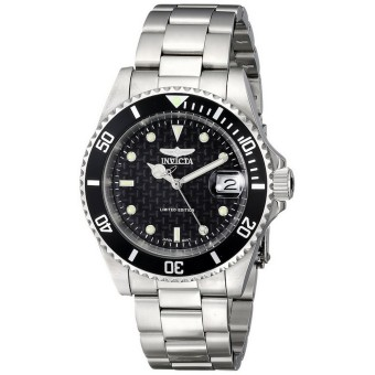 INVICTA ILE8926OBA Pro Diver Men's Stainless Steel Watch Silver -Intl Price Philippines