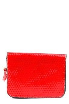 Iris Crossbody Bag Set of 3 (Red) - picture 2