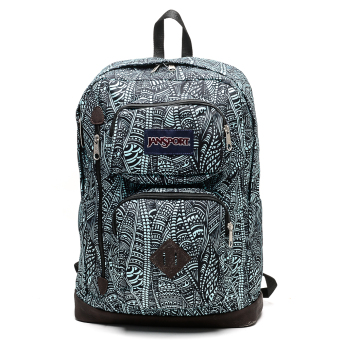 Jansport Austin Backpack (Aqua Dash Scribbled Ink) Price Philippines