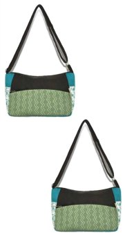 Jellybeans Mini Sling Bag Sienna Set of 2 (Blue/Green)