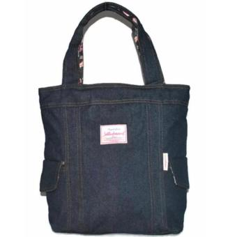 Jellybeans Tote bag Denim Jewel (Navy blue)