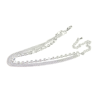 Jetting Buy Bohemian 4 Layers Crystal Beads Sandal Anklet - picture 2