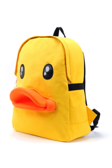 Jetting Duck 3D Backpack Bag Yellow