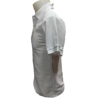 JEVANA Plain White Polo Shirt - 2