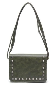 Jewelmine Scarlett Sling Bag (Green)
