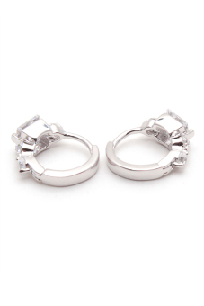 Jewelrista EAR028 Earrings White Gold - picture 2