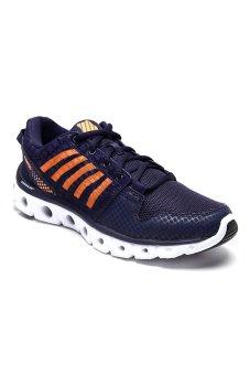 K-Swiss 03523-479  X Lite ST CMF Men's Running Shoes (Navy/Orange/Popsicle)