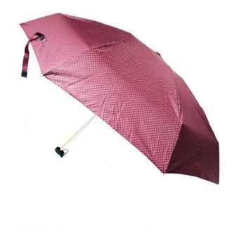 Karakter UV Small Mini Polkadot Umbrella (Brown)