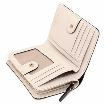 Kate Spade Wellesley Cara French Leather Clutch Wallet - BeigeBlack - 5
