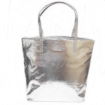 Kate Spade WKRU2965 Tote Bag (Silver)