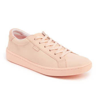 Keds Ladies Ace Mono Leather Sneakers (Pale Peach) - 2