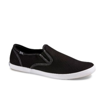 Keds Men's CH Slip-on Sneakers (Black)