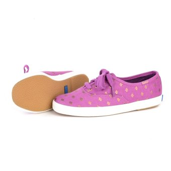 KEDS WF53400 CH Metallic Native Dot Women's Sneaker Shoes (Magenta) - 4