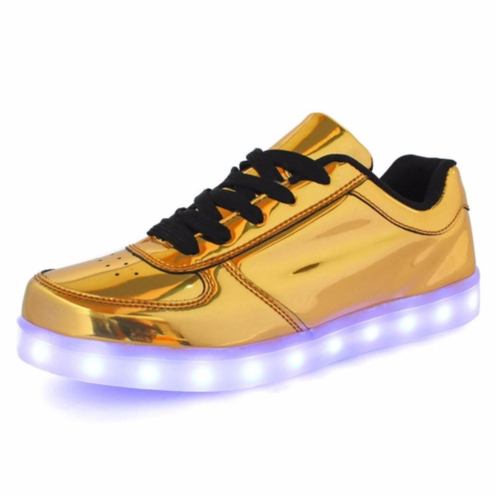 shoes led top with rechargeable children light l lights sneakers up larger glowing view boys mid deluxe kids