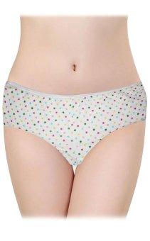 Kids Polka Dots Design Underwear Set of 3 (7-8 Years Old) (White) - 4