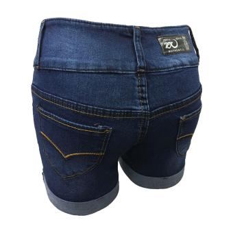 Korea High waist denim shorts female jeans - 5