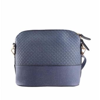 Korean Bag Leather Sling Bag Reindeer Charm Chain Blue Casual Bag Body Bag Crossbody Bag Korean Fashion Bag - 4