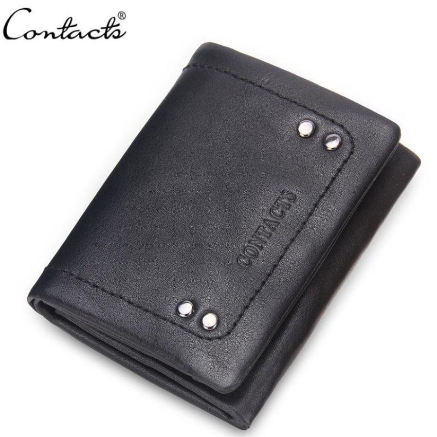 Korean Mens Wallet Really Packet Pickup Decorative Rivets LittlePurse Handbags for Men (